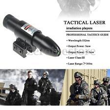 5mw Gunsight Green Laser Sight Opos For 25.4mm Tube Diameter Rifle Scope 2 Mount