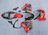 fit For 1998-1999 Kawasaki Ninja ZX9R Motorcycle Fairing Bodywork Set red+Black