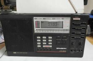 SANGEAN ATS-303 world band radio. LW, MW, SW, FM. Receives SSB. Poor state.