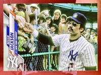 REGGIE JACKSON 2020 Topps Series 1  Photo Variation New York Yankees SP #206 🔥