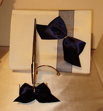 Guest Book and Pen set Wedding/ Anniversary/ Any Occasion .Your colors