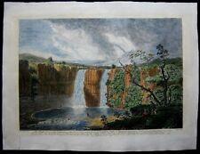 1751 Original Thomas Smith View High Force Waterfall River Teese Durham England