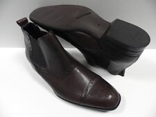 Chaussures SLEDGERS adonis marron HOMME taille 40 cuir ville montante NEUF