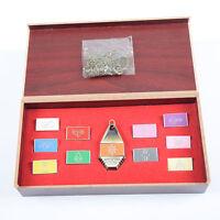 Digimon Adventure Tags & Crest Emblem Necklace Pendant 11PCS/Set Collection Box