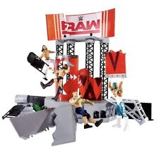 WWE RAW Wrekkin' Entrance Stage Wrestling Figure Playset Brand New Elite Series