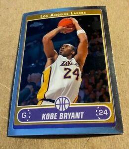 2006/07 Topps Chrome Basketball #129 Kobe Bryant