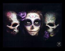 3d CUADRO DAY OF DEAD - DÍA DE LOS MUERTOS FANTASY Póster Calavera Anne Stokes