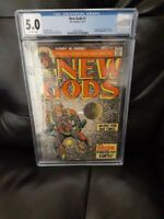 NEW GODS # 1 1ST ORION JACK KIRBY CGC GRADED 5.0. MOVIE COMING