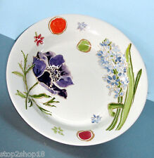 "Gien Jacinthe Rim Soup Bowl 9"" French Faience New"