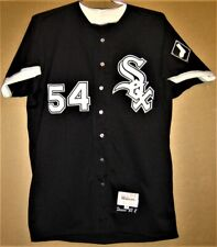 CHICAGO WHITE SOX MIKE DUNNE 1993 BLACK BUTTON-DOWN JERSEY
