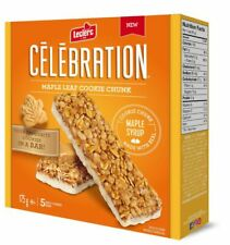 Leclerc Celebration Maple Leaf Bars (5ct) 175g/6.2 oz {Imported from Canada}