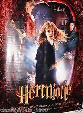 """HARRY POTTER & THE CHAMBER OF SECRETS (2002) VINYL GIANT BANNER 47""""X 67"""""""