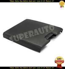 Black Front Seat Center Console Lid 07-13 Chevy GMC Cadillac Pickup Truck SUV