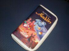 Awesome Disney Aladdin Vhs Clutch Purse New