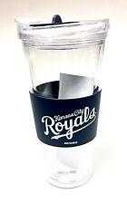 Kansas City Royals Licensed 22 Ounce Large Slider Tumbler Cup Mug - New