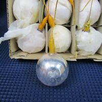 24 Blown Glass Christmas Bulb with Wrap Hook