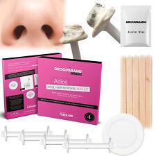 Groomarang per il suo ADIOS cera di rimozione peli del naso KIT indolore & Easy CERETTA nasale