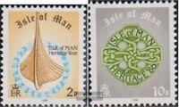 GB - Insel Man 311-312 (kompl.Ausg.) postfrisch 1986 Freimarken