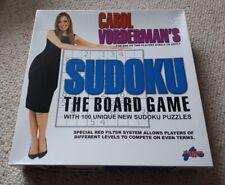 Mint con Carol Vorderman's Sudoku Board game 1-2 players