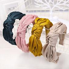 Fashion Women's Fabric Tie Headband Hairband Knot Hair Band Hoop Accessories