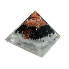 Extra Large Tourmaline & Selenite Orgonite Pyramid Energy Generator Protection