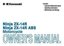 Kawasaki Owners Manual Book 2014 Ninja ZX-14R