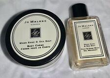 Jo Malone Wood Sage & Sea Salt Body Cream And Body Wash Set Of Two, 0.5 Oz Each