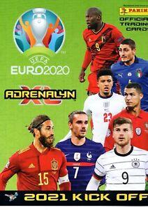 2021 Panini Adrenalyn XL UEFA Euro 2020 Kick Off card no 1-220