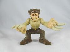 Wolverine figure bone claws Hasbro 2008 Marvel Superhero Squad X-Men brown pants