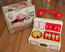 CODEG centralino con cicalino ELETTRICO VINTAGE 1950 S RARE Tin Toy A814