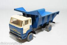 LION CAR DAF 2000 TRUCK KIPPER TIPPER BLUE EXCELLENT CONDITION REPAINT