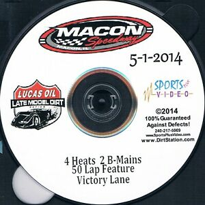Lucas Oil Late Models DVD From Macon Speedway 5-1-2014