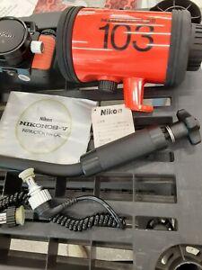 VTG NIKON LENS UNDERWATER NIKONOS V SLR 35mm CAMERA SB-103 SPEEDLIGHT STROBE +