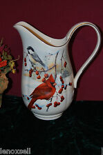Lenox Winter Greetings Scenic Pitcher Large New Usa Free Shipping