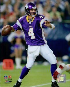Brett Favre Minnesota Vikings NFL Licensed Unsigned Glossy 8x10 Photo F