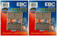 EBC Double-H Sintered Metal Brake Pads FA265HH (2 Packs - Enough for 2 Rotors)