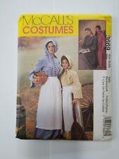Mccalls  Misses Pioneer -Dress-Apron Bonnet-Pattern 3669 Size (8-22)