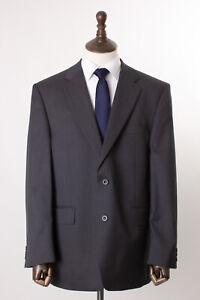 Men's Grey Savile Row Suit Regular Fit Alexandre London 44R W32 L31