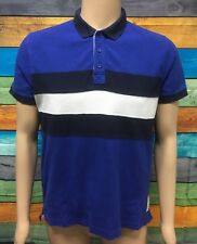 (Used) Mens RM Williams Casual Short Sleeve Polo Shirt Size: M Striped
