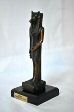 statuette égyptienne Anubis bronze reproduction musée