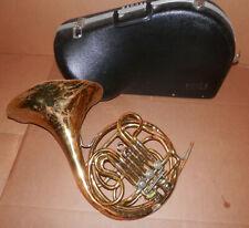 Rare 1930's King HN White Schmidt Model Model Double French Horn!