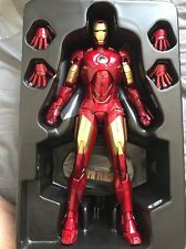 HOT TOYS 1/6 MARVEL IRON MAN 2 MMS123 MK4 MARK IV TONY STARK ACTION FIGURE