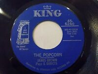 James Brown The Popcorn / The Chicken 45 King Funk Vinyl Record