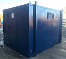 12ft x 8ft Anti Vandal 3 by 1 toilet Container - Excellent condition