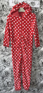 Girls Age 7-8 Years - Mothercare All In One Pyjamas