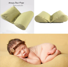 Newborn BEIGE BROWN Butterfly Posing PU Pillow Photography Photo Prop