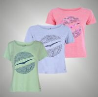 Ladies Gul Short Sleeves Slouch Loose Fit T Shirt Crew Top Sizes from 8 to 16