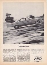 1965 FORD GALAXIE 500/XL 2-DOOR HARDTOP 427/425 HP ~ ORIGINAL PRINT AD