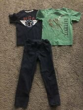 Gap/Jumping Beans/Sonoma~Boys 3pc Shirts and Pants Sz 6/7