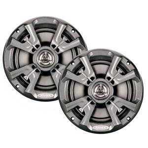"Jensen Msx60Rvr 6.5"" High Performance Coaxial Speaker Pair Silver"